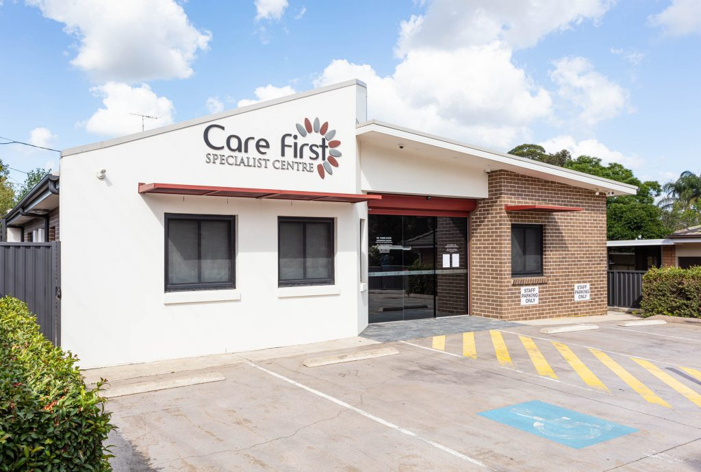 Contact Care First Orthopaedic